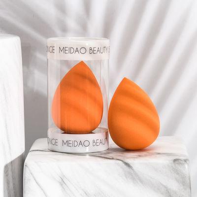 黑色美妆蛋一个装单个粉扑化妆海绵不吃粉超软大单只干湿两用便携