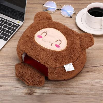 冬天usb暖手鼠标垫 冬季保暖发热加热宝加厚电脑桌鼠标套超大手套