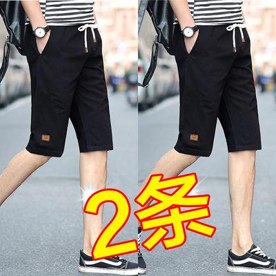 男士短裤新款潮秋款运动套速干棉半截男休裤子男生工侣装生分
