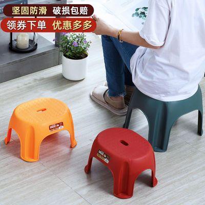 加厚防滑凳子成人儿童家用小板凳地摊浴室换鞋茶几矮凳洗衣澡塑料