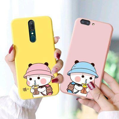 OPPOa5手机壳个性卡通情侣款保护套全包边防摔0pp0可爱