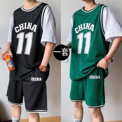 2020全明星欧文11号篮球服一套男夏季韩版运动套装学生球衣两件套