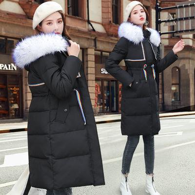 反季棉衣女中长款2020新款棉服女韩版宽松棉袄修身显瘦冬外套女潮