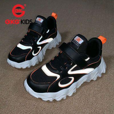 bkg男童2020春季新款儿童运动鞋网面透气老爹鞋中大童网红小白鞋