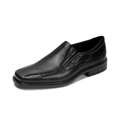 ECCO爱步商务正装皮鞋男 春季真皮休闲鞋德比鞋男鞋 新泽西051504