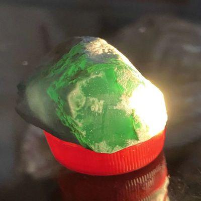 缅甸天然翡翠原石帝王绿冰种手镯料手链玉石吊坠戒指手环挂件把件
