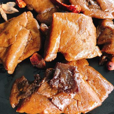 宏香记手撕牛肉豆脯308g五香/香辣味 牛肉豆干休闲零食独立小包装