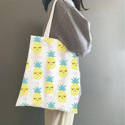 帆布袋定做可印logo棉布袋手绘现货DIY环保袋来图定制空白帆布包