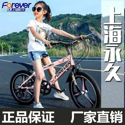 永久儿童自行车单车女孩6-7-8-10-12岁男孩中大童车小孩山地脚踏