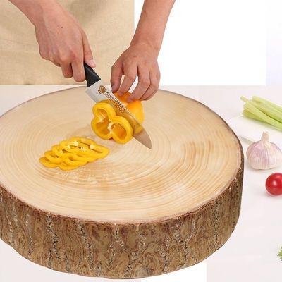 银杏木砧板菜板舌尖上的中国3同款白果树实木整木铁蚬木灵川
