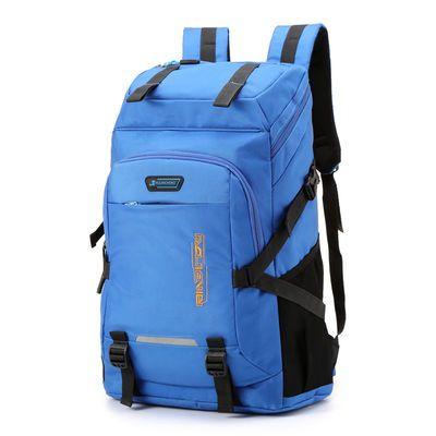 旅行背包男运动包双肩包大容量登山户外防水学生书包时尚潮流背包