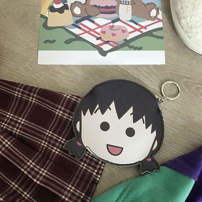 韩国可爱卡通头型动漫零钱包钥匙包小包便携小号PU硬币包学生卡包