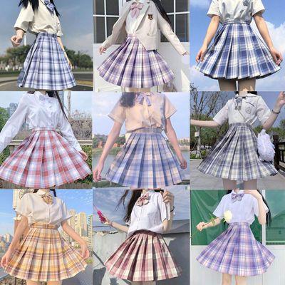 36565/日系合集正版正统jk格裙中牌学生jk制服套装温柔一刀水手服百褶裙