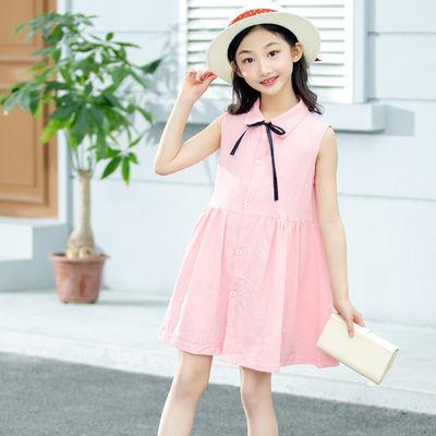 女童连衣裙儿童裙子6夏装7中大童8女孩纯棉9春夏童装10背心裙12岁