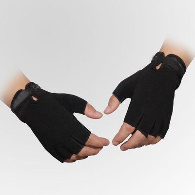 户外军迷特种兵战术手套男女骑行运动防滑防刺抗撕裂半指手套
