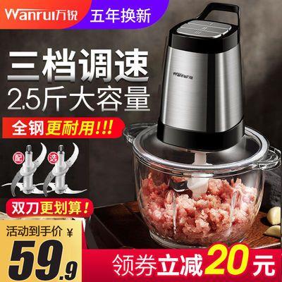 【德国品牌】绞肉机家用电动多功能碎肉机搅拌机搅肉打肉机绞辣椒