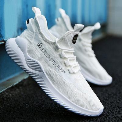 2020新款夏季透气情侣鞋潮鞋百搭网面休闲运动跑步鞋女韩版鞋子男