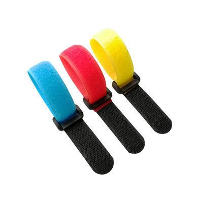 反扣尼龙魔术贴扎带塑料扣固定瑜伽货物绑带模型电池捆扎带理线带