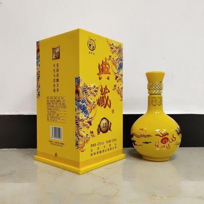 牛栏山典藏12年(小金龙)42度500ml1×6浓香型白酒整箱包邮