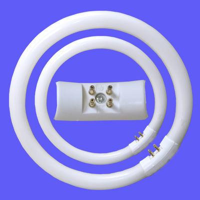 环形灯管T5T6圆形荧光灯吸顶三基色节能灯管四方针环管