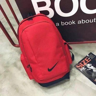 大容量新款双肩包校园学生书包韩版户外运动包男女帆布背包初高中