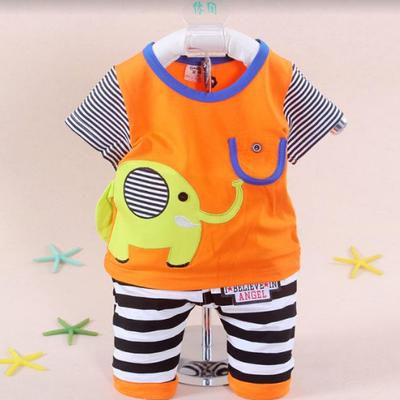 【特价清仓19.9】男女童夏装套装夏季0一1岁3-5小童2宝宝婴儿衣服