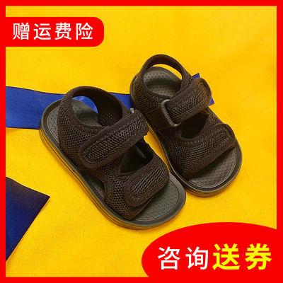宝宝凉鞋夏季男户外新款休闲运动帅气防滑鞋子儿童女童露趾中大童