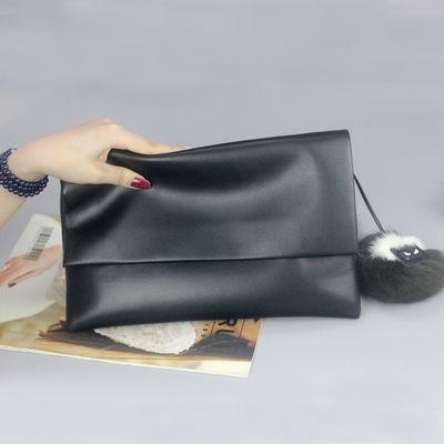 大容量女士真皮手拿包女包2020新款时尚气质软皮手包斜挎包小包包