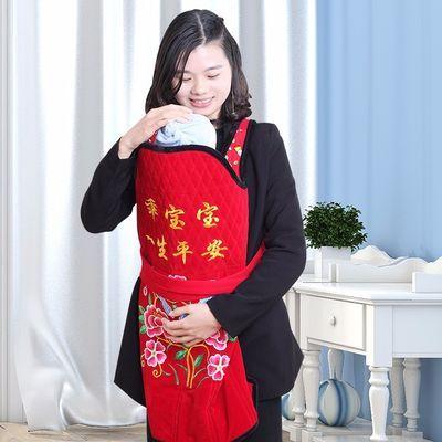 云南特色老式传统绣花背带宝宝背带婴儿背巾背袋夏季薄款民族背被