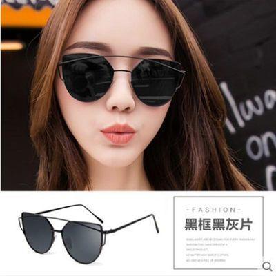 2020新款太阳镜女士墨镜ins复古韩版潮圆脸时尚显瘦防紫外线眼镜