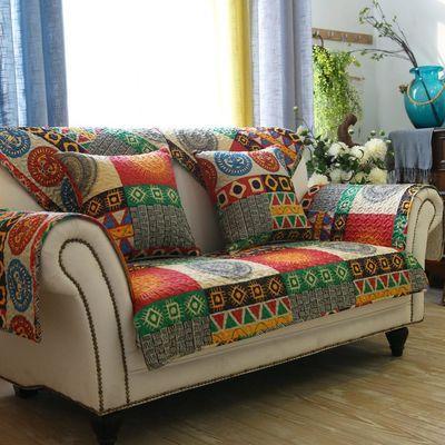 欧式沙发套罩子四季沙发垫布艺防滑通用纯棉沙发巾全包全盖靠背垫