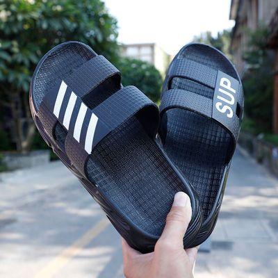 韩版潮拖2020夏季新款外穿拖鞋时尚休闲百搭潮流沙滩一字拖凉鞋男