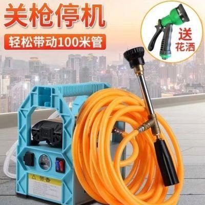 农用电动喷雾器手提式充电果树打药机抽水洗车机高压隔膜双泵机器