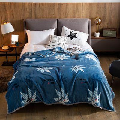 珊瑚绒床单单件冬季加厚单人学生宿舍加绒毛毯双面毛绒法兰绒毯子