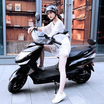 天禧新国标电动摩托车48V60V72V小绵羊助力车成人男女踏板电动车