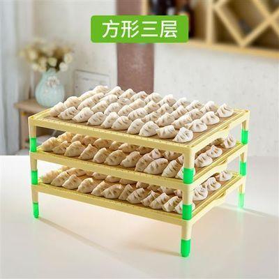 饺子帘包饺子水饺盒饺子器青竹天然饺子垫托盘水饺盘餐垫高腿盖帘