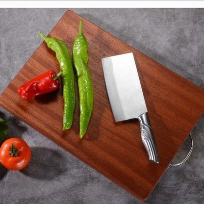 乌檀木切菜板实木面板案板防霉加厚家用厨具砧板整木菜板菜板
