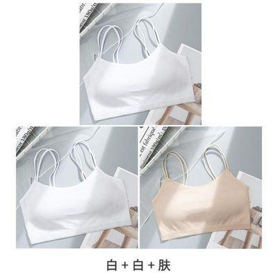 少女文胸罩学生小背心发育期初中生高中生内穿青春期女孩抹胸内衣