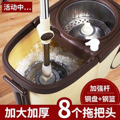 旋转式免手洗懒人拖把家用拖地神器干湿两用自动甩水地拖布墩布桶