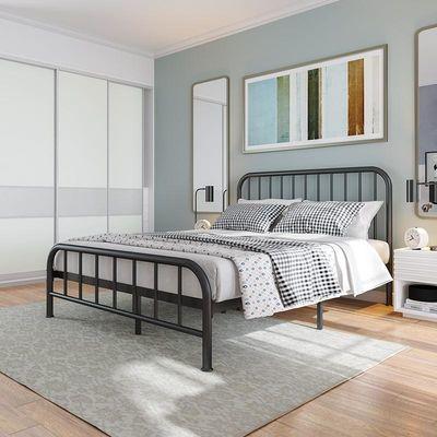 床架铁架床铁艺床铁床北欧网红现代简约双人床宿舍加厚单人床家用