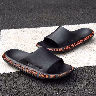 2020拖鞋男士夏季潮流韩版情侣一字拖居家用托鞋室内外穿沙滩凉鞋