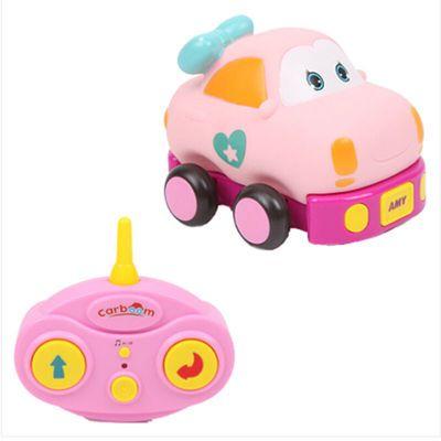 贝恩施儿童玩具车电动遥控车可拆卸耐摔卡通模型车4-6岁AMY艾米