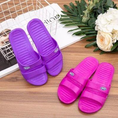 【买一送一,一份=2双】居家拖鞋女夏季室内耐穿一字拖洗澡拖凉鞋
