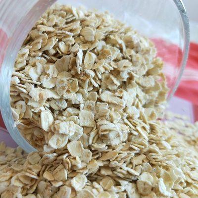 【热卖】即食纯燕麦片 速溶麦片冲饮燕麦麦片 早餐营养谷物原味燕