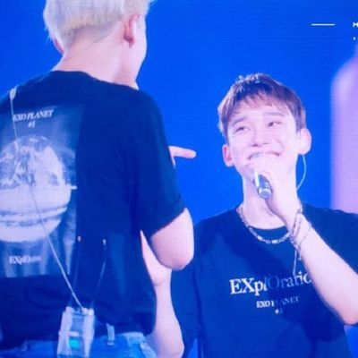 EXO五巡PLANET#5演唱会周边生日应援衣服金钟仁边伯贤同款短袖T恤