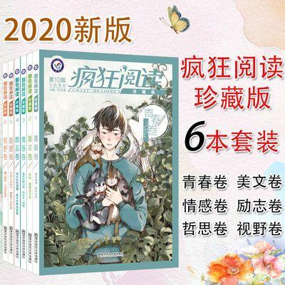 2020年疯狂阅读珍藏版6本套装六本校园文学故事中学生课外阅读