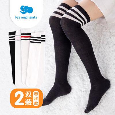【丽婴房】儿童长筒袜男女学生韩版长筒过膝女纯棉春秋足球袜子男