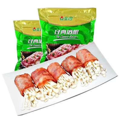 金锣正品经典培根冷鲜肉原切肉片 家用商用五花肉 火锅食材猪肉片