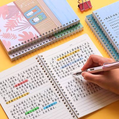 简约加厚线圈本笔记本子可爱韩版小清新学生记事本超萌少女日记本