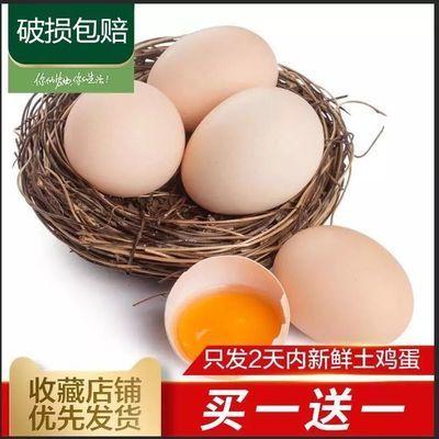 【促销】舌尖上的玉食 正宗土鸡蛋农家散养新鲜纯 天然40枚柴鸡蛋